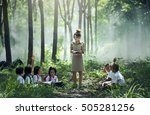 chiang mai province  thailand   ... | Shutterstock . vector #505281256