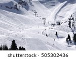 Skiing On The Dolomites  Val D...