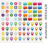 mapping pin icon pointer...