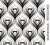 vector seamless pattern with... | Shutterstock .eps vector #505321402