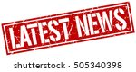 latest news. grunge vintage... | Shutterstock .eps vector #505340398