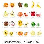 funny cartoon fruit characters...