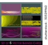 vector set of elegant fresh... | Shutterstock .eps vector #50539960