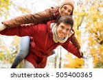 love  relationships  season and ... | Shutterstock . vector #505400365