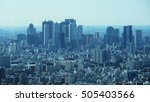 city skyline | Shutterstock . vector #505403566