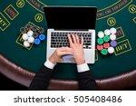 casino  online gambling ...   Shutterstock . vector #505408486