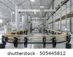 factory and industrial... | Shutterstock . vector #505445812