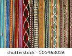 handicrafts  woven belt patterns | Shutterstock . vector #505463026