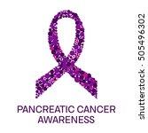 pancreatic cancer awareness... | Shutterstock .eps vector #505496302