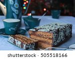 gingerbread with marmalade | Shutterstock . vector #505518166
