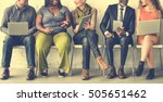 diverse group of people... | Shutterstock . vector #505651462