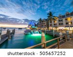 pier on the port of key west ... | Shutterstock . vector #505657252