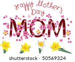 mother's day | Shutterstock .eps vector #50569324