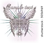 vintage emblem   Shutterstock .eps vector #5056969