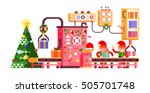 stock vector illustration of... | Shutterstock .eps vector #505701748