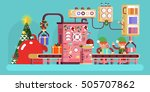stock vector illustration of... | Shutterstock .eps vector #505707862