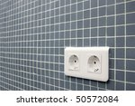 detail of a double power... | Shutterstock . vector #50572084