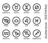 Zodiac Signs And Symbols. ...