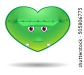 frankenstein's monster... | Shutterstock .eps vector #505806775