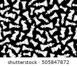 vector seamless background with ...