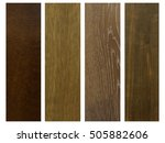 Four Colors Of Wood