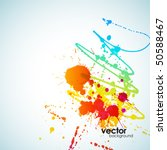 abstract colorful background.... | Shutterstock .eps vector #50588467