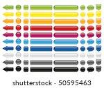 web buttons | Shutterstock .eps vector #50595463