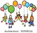 happy kids | Shutterstock .eps vector #50598316