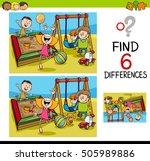 cartoon illustration of finding ... | Shutterstock .eps vector #505989886