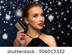 people  luxury  christmas ... | Shutterstock . vector #506015332