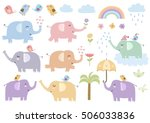 Vector Set Of Cute Isolated...