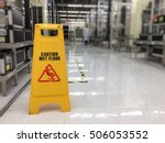 Caution Wet Floor Or Cleaning...