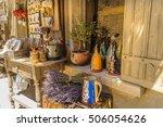 provencal goods store    Shutterstock . vector #506054626