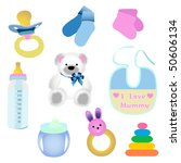 baby elements | Shutterstock .eps vector #50606134