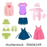 Baby Girl Elements  Clothes