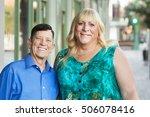 smiling mature transgender...   Shutterstock . vector #506078416