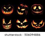 pumpkins | Shutterstock .eps vector #506094886