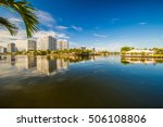 luxury houses at the canal in... | Shutterstock . vector #506108806