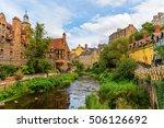 picturesque dean village along... | Shutterstock . vector #506126692