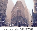 new york city   january 26 ... | Shutterstock . vector #506127382