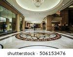 hotel lobby interior   Shutterstock . vector #506153476