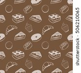 confectionery vector pattern   Shutterstock .eps vector #506210065