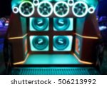 blurred colorful lights of... | Shutterstock . vector #506213992