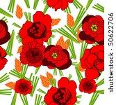 original floral background | Shutterstock .eps vector #50622706