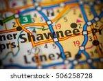 shawmee. kansas. usa. | Shutterstock . vector #506258728