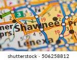 shawmee. kansas. usa. | Shutterstock . vector #506258812