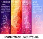 vertical vector banner for... | Shutterstock .eps vector #506296006