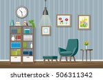 illustration of interior... | Shutterstock .eps vector #506311342