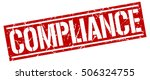 compliance. grunge vintage...   Shutterstock .eps vector #506324755