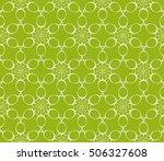 seamless floral geometric...   Shutterstock .eps vector #506327608